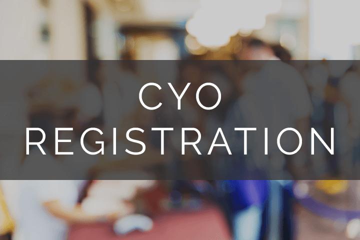 CYO Registration
